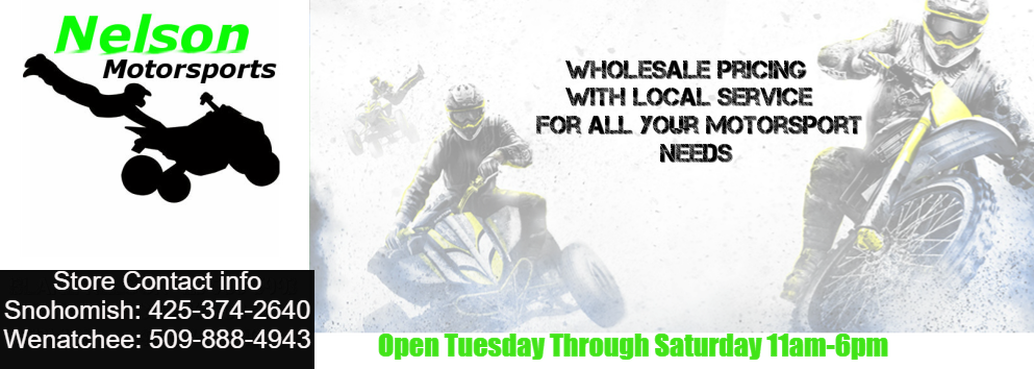 Nelson Motorsports - ATV's, Quads, Go-Karts, motorcycles, Accessories and Maintenance